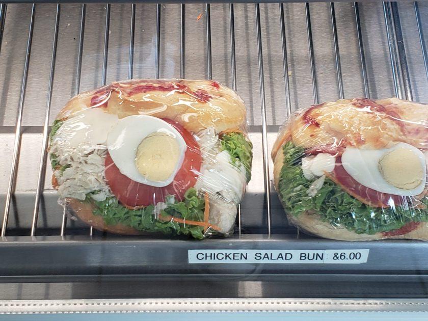Sandwich choices