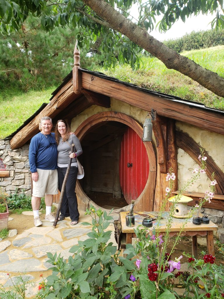 Kathy adn Dave at the Shire