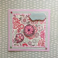 Dovecraft Painted Blooms squares
