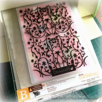 How to use embossing folders 1