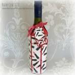 Handmade wine gift box