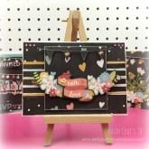 Handmade bunting card - Chalk to Me