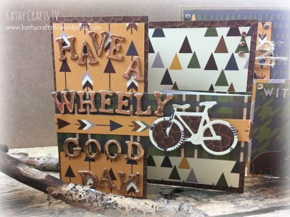 Have a Wheely Good Day handmade card