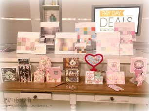 Papercraft bundle on the set of Create & Craft