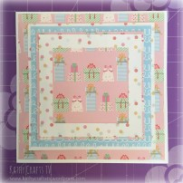 Tips for cardmaking - mats and layers 3