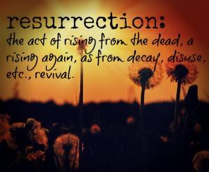 resurrection definition