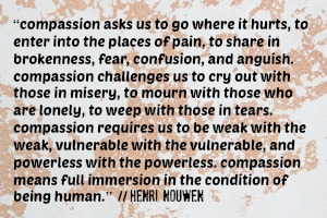 compassion henri nouwen