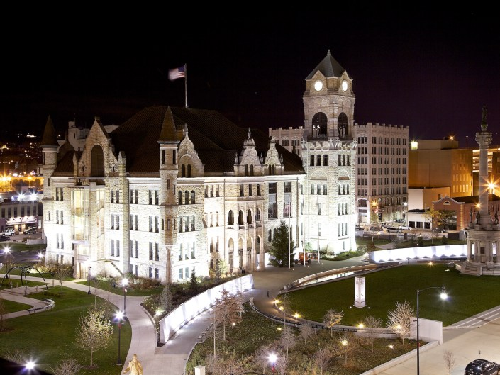 Courthouse Square, Scranton, PA.