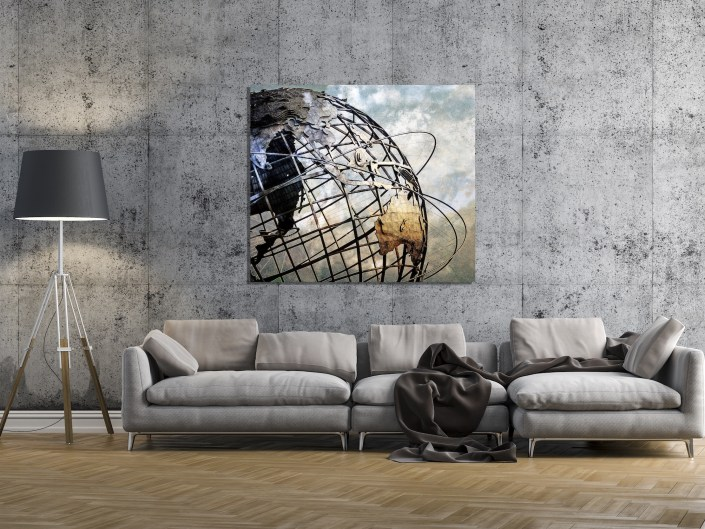 Unisphere,ew York City, New York, NYC, Queens, New York, Flushing Meadows- Corona Park, World's Fair 1964, Gilmore David Clarke