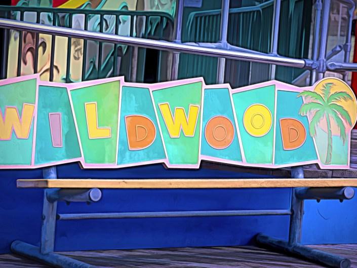 Wildwood Boardwalk - Bench