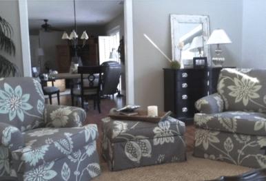 Cocoa Beach Florida Living Room