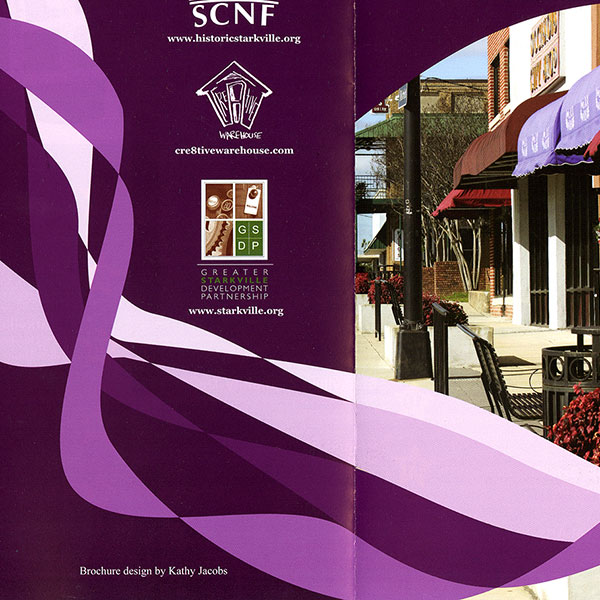 Starkville Arts Walk Brochure Design