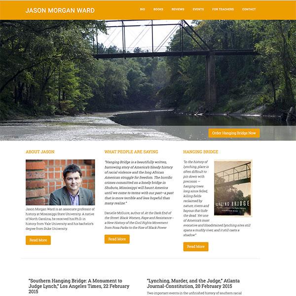 Jason Ward Author Website