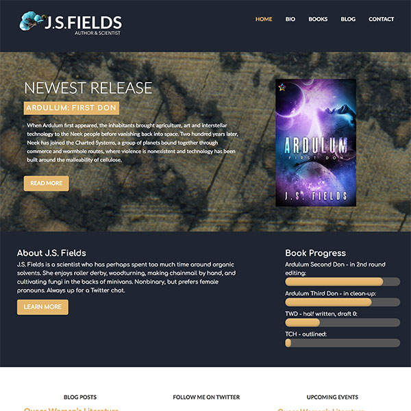 J.S. Fields Website