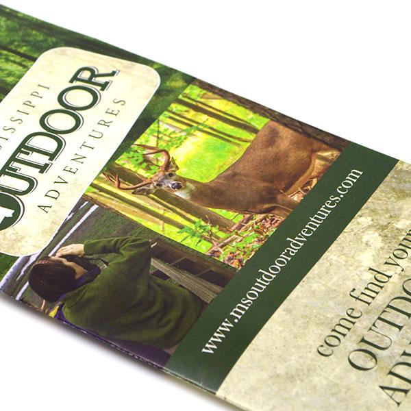 Brochure for Mississippi Outdoor Adventures