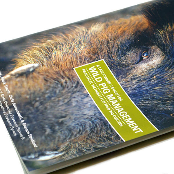 Design for Book: Landowner's Guide to Wild Pig Management