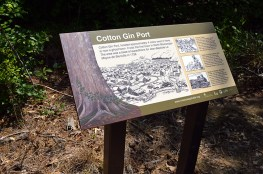 Cotton Gin Port Sign