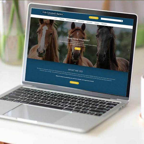 Cole Livestock Agency Insurance Group Website