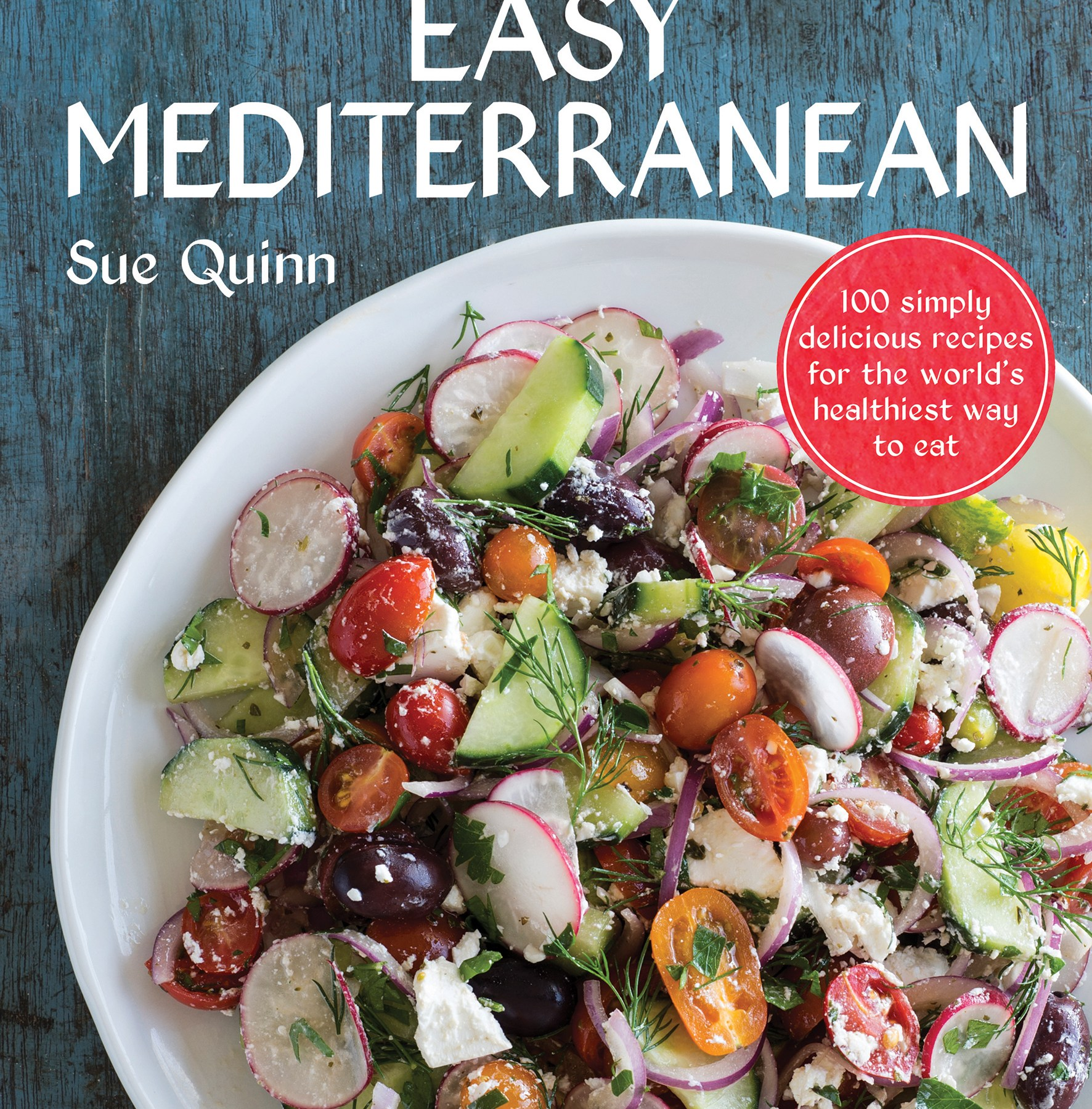 Easy Mediterranean healthy cookbook