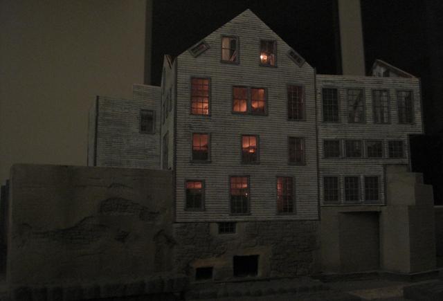 Martin Machine at night