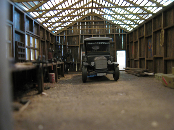 Garage barn roof