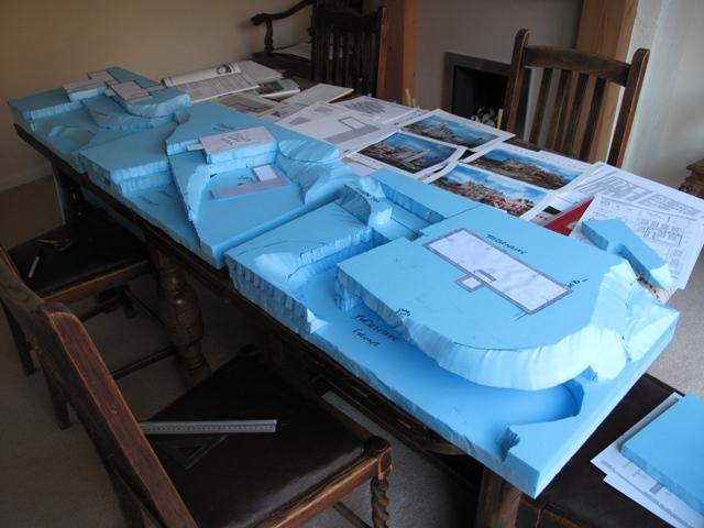 Layout diorama bases
