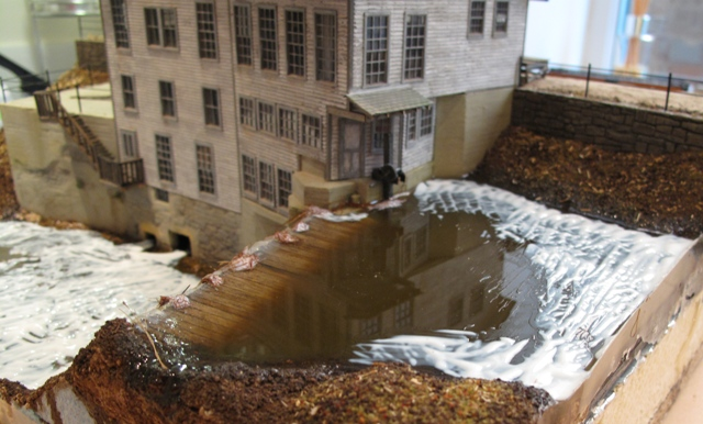 Martin Machine mill pond