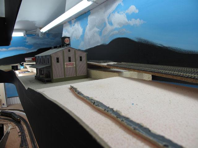 Middle upper level diorama