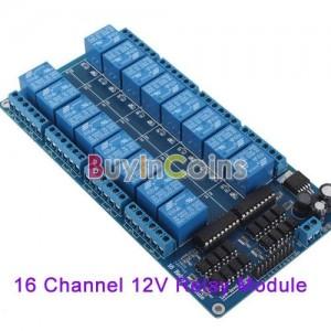 16 channel relay board