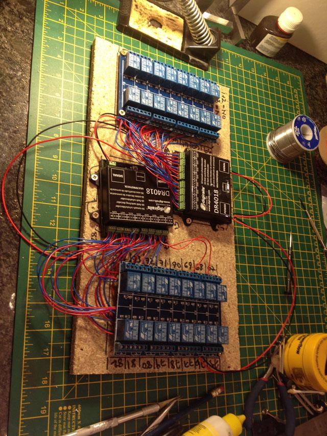 Pre-relay board
