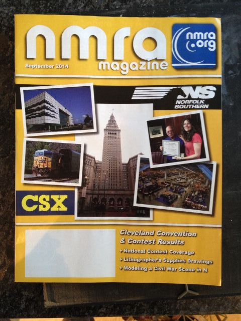 NMRA magazine cover