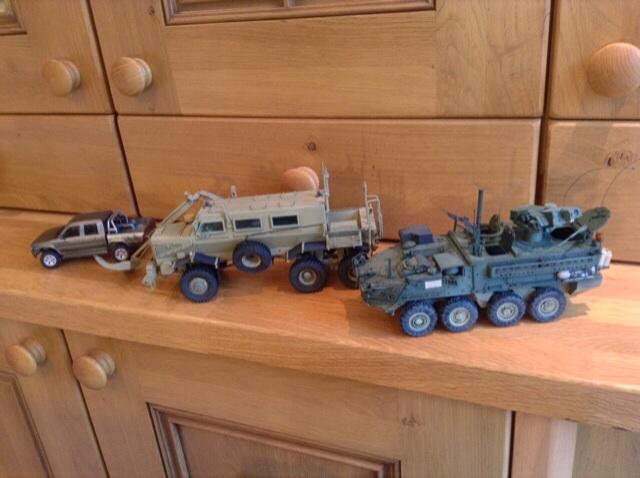 Finished vehicles