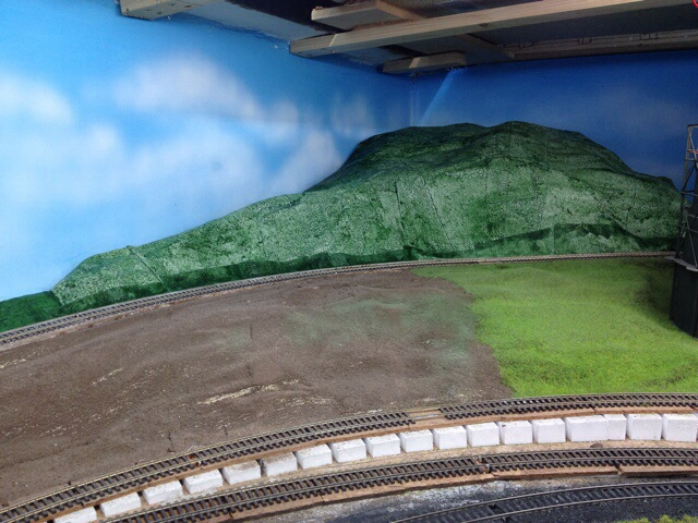 Painted hill
