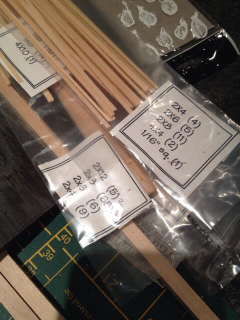 Strip wood