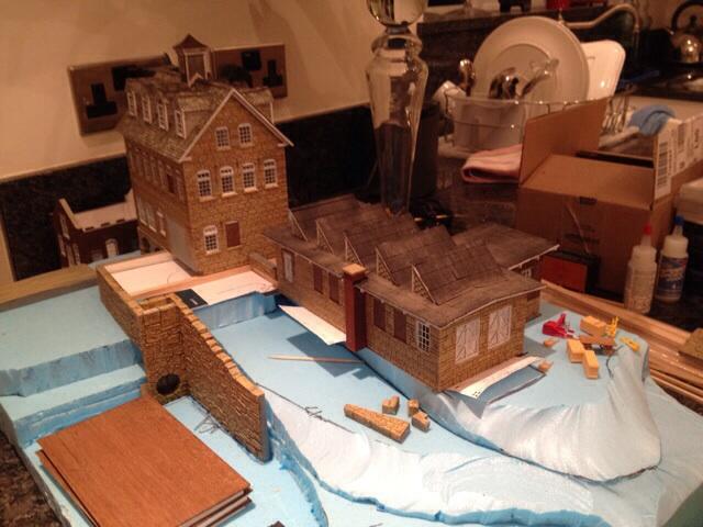 Diorama part done