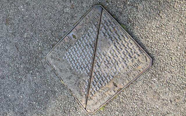 UK manhole cover