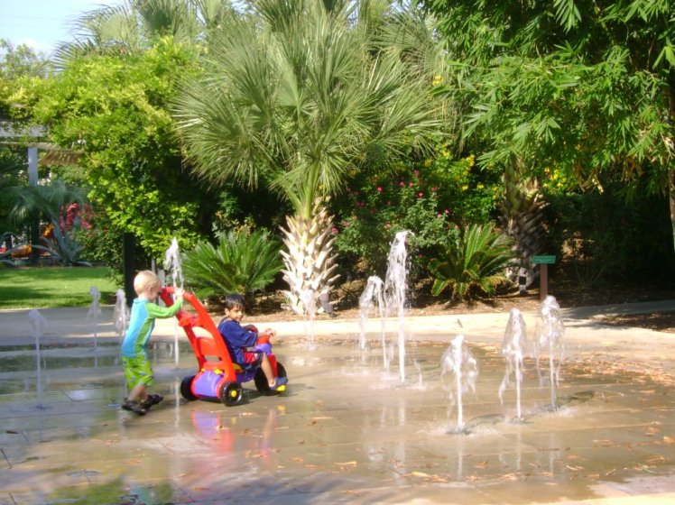 The fountains at Chrispark