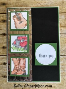 Country Livin Thank You Card