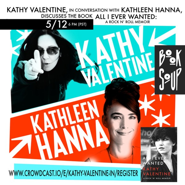 Poster for In Conversation With Kathleen Hanna