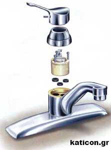 Υδραυλικός Αθήνα Επισκευή βρύσης