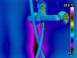 υδραυλικος - Аνίχνευση διαρροών με θερμοκάμερα στην μπαταρια