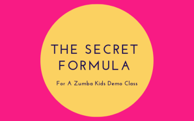 The Secret Formula for a Zumba Kids Demo Class!