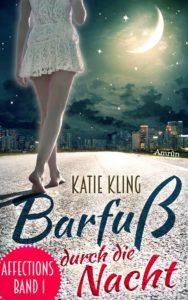 Buchcover Barfuss durch die Nacht Katie Kling