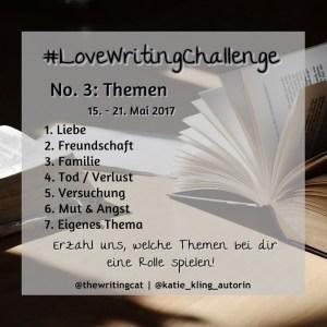 LoveWritingChallenge Woche 3