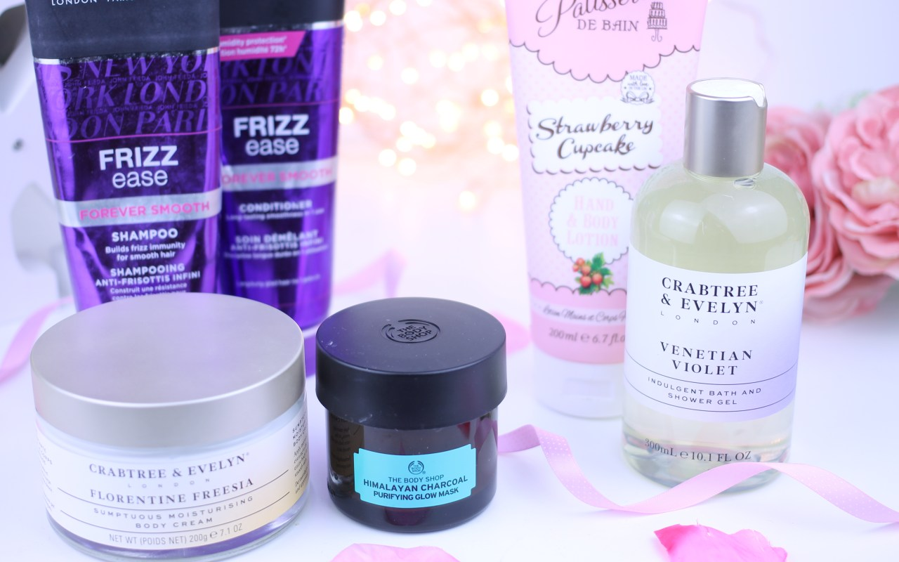 The perfect products for a pamper night in