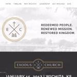 Exodus Church Wichita-Churches using the Divi Wordpress Theme