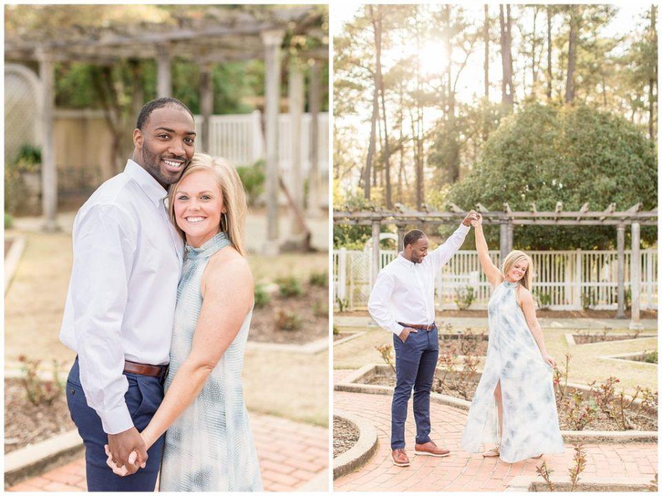 Birmingham, Alabama Wedding Photographers Katie & Alec   Anna Page & TJ's Engagement Session Birmingham Botanical Gardens
