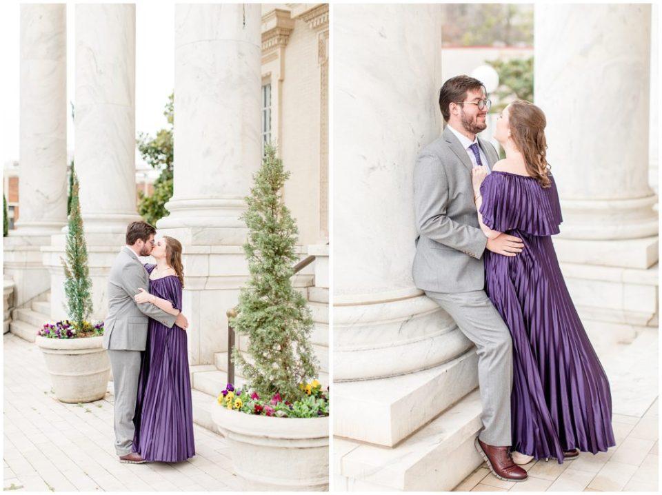 Emily & Andrew's Birmingham, Alabama Engagement Session - Birmingham, Alabama Wedding Photographers Katie & Alec Photography