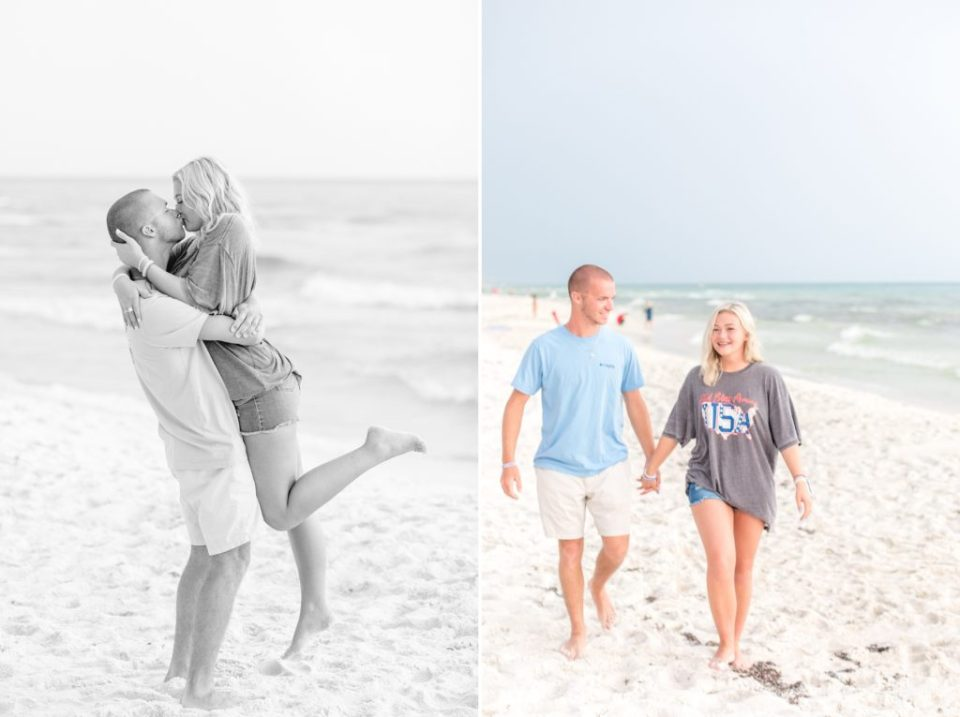 30a beach proposal photographers Katie & Alec Photography 1