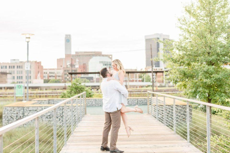 Birmingham Railroad Park Engagement Session | Katie & Alec Photography Birmingham, Alabama Wedding & Engagement Photographers